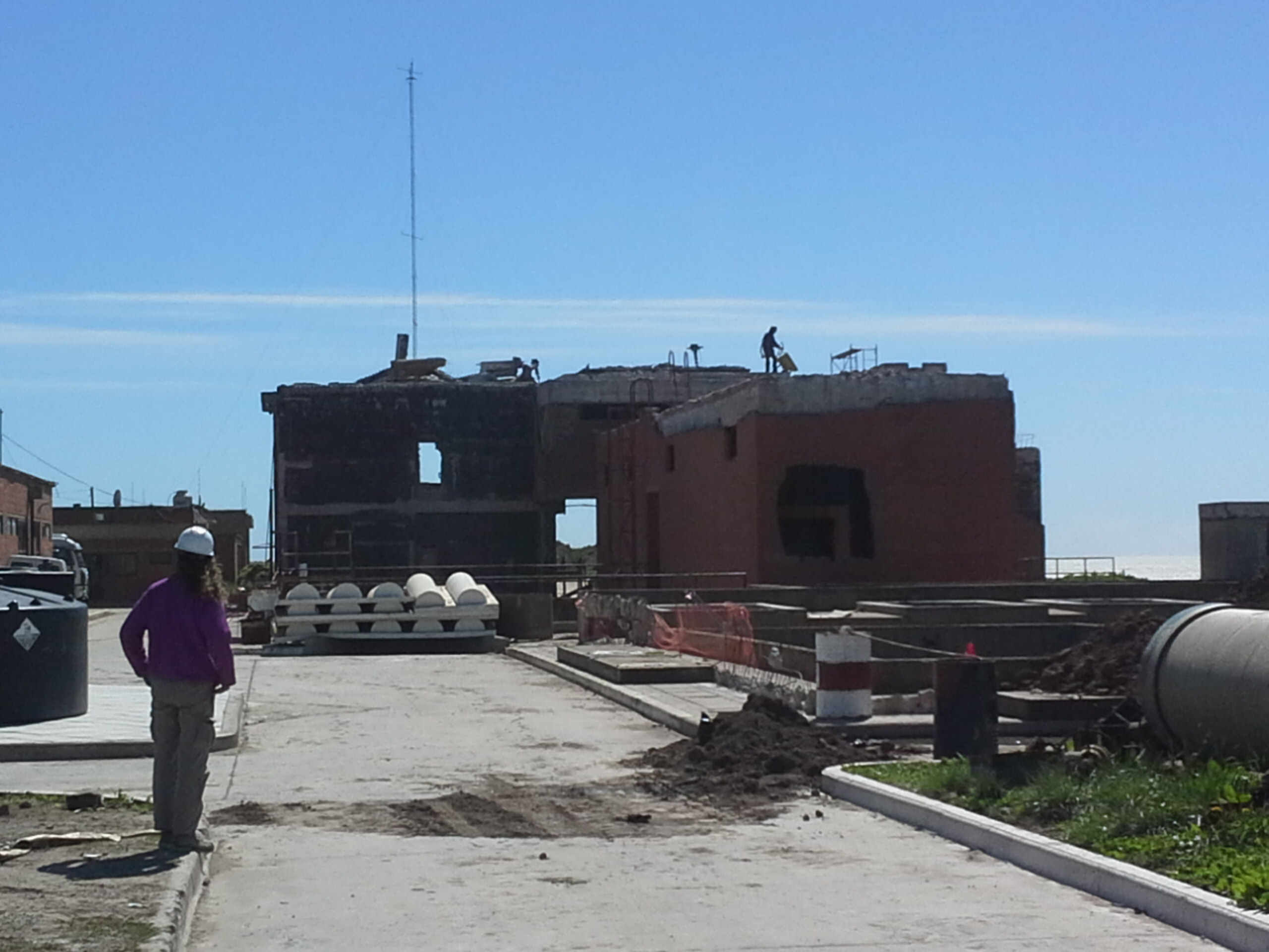 e729e85e3979 Obras Sanitarias confirmó que promedian las tareas luego de la  desafectación de dicha estación
