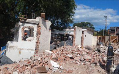 Nuevo Centro de Abastecimiento de Agua Tucumán: Continúa la fase de pruebas y se demuele la vieja estructura