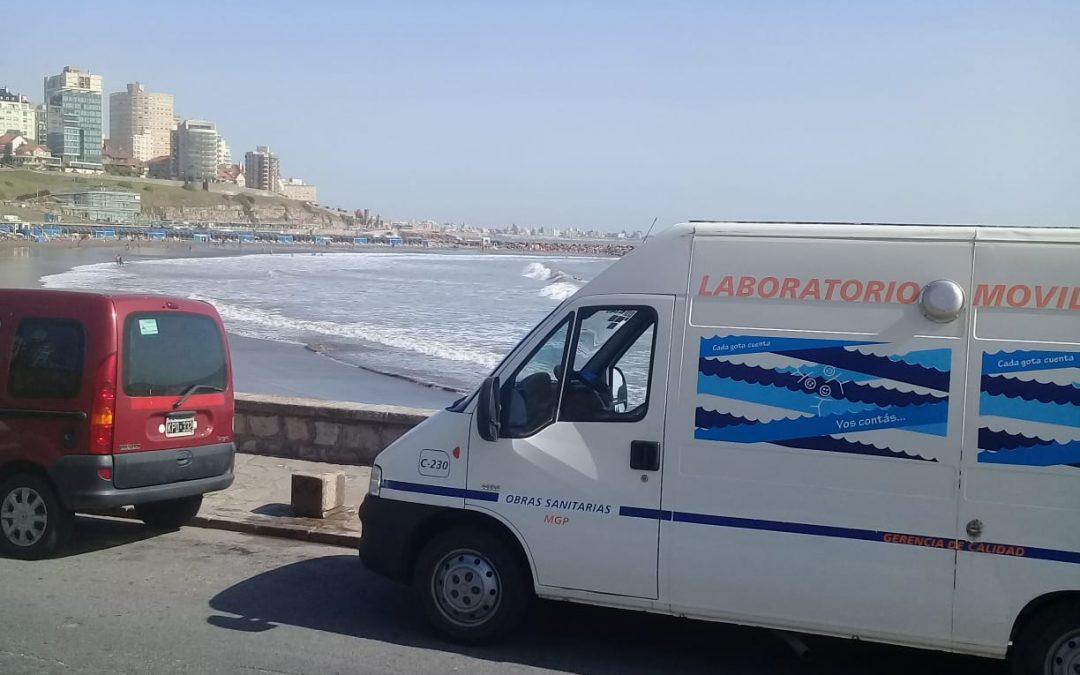 Obras Sanitarias trabaja para la certificación ambiental internacional de la calidad recreativa de las playas