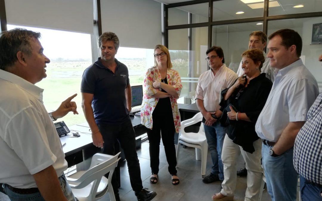 Funcionarios de Concordia mostraron su interés en la experiencia de gestión de OSSE