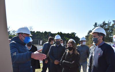 El Ministro de Obras de la Nación Gabriel Katopodis recorrió la zona de trabajo del Acueducto Oeste