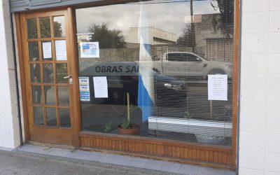 Batán: OSSE dispuso la apertura de su oficina comercial