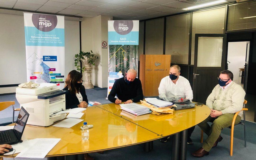 OSSE encara mejoras en la red de agua el sector costero norte