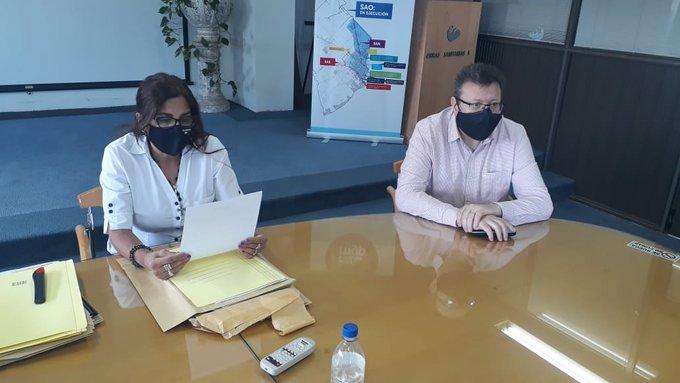 Hipódromo: OSSE analiza propuestas  para ampliar el servicio de cloacas