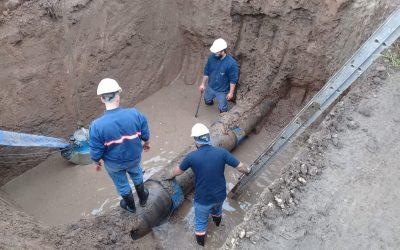 Obras Sanitarias habilitará nuevos pozos del Acueducto Oeste e incrementará dotación destinada a la atención con camiones cisterna de los vecinos del sur