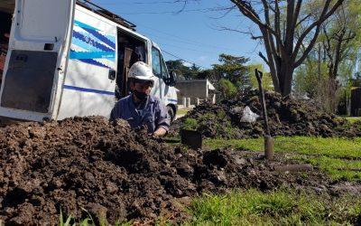 Obras Sanitarias encara la ampliación de la red cloacal en Don Diego y Batán