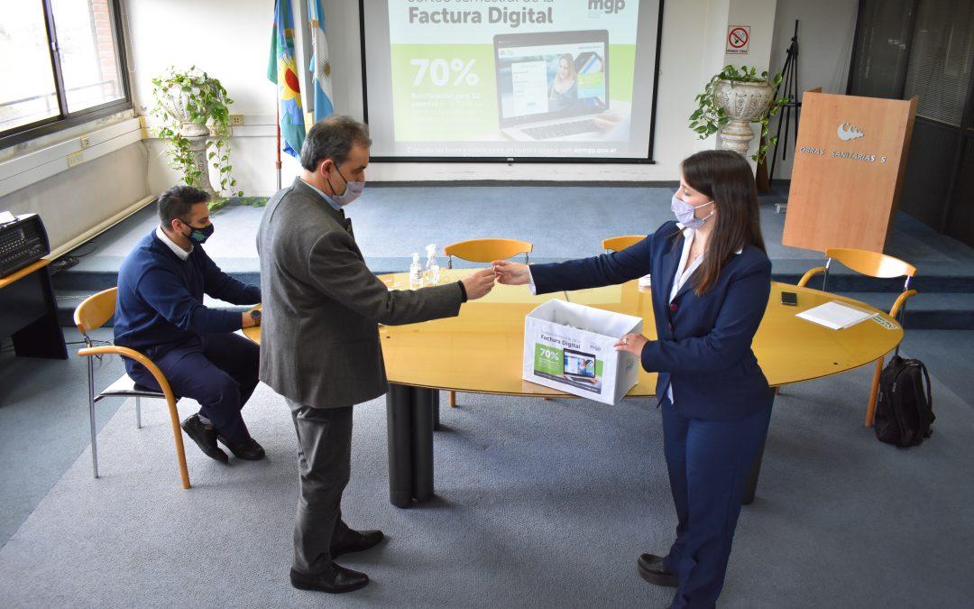 La factura digital de OSSE otorgó nuevos premios