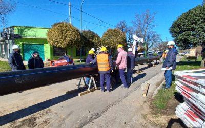 Se trabaja en Zona Norte para potenciar el servicio de agua