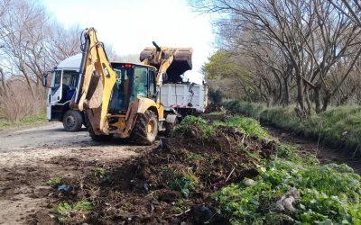 OSSE mejora el escurrimiento de zanjones en Parque Hermoso