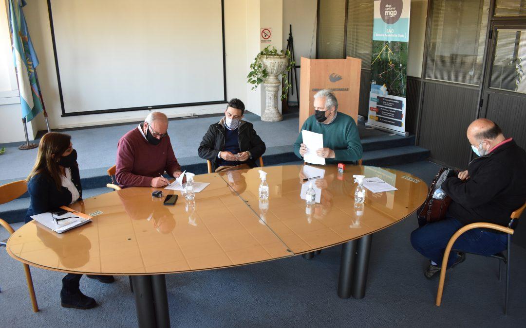 OSSE confirmó la extensión de la red de agua en Castagnino y La Laura