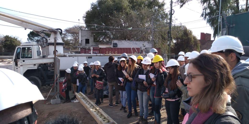 Visitas al Cento de Abastecimiento de Agua de Tucumán y Almafuerte