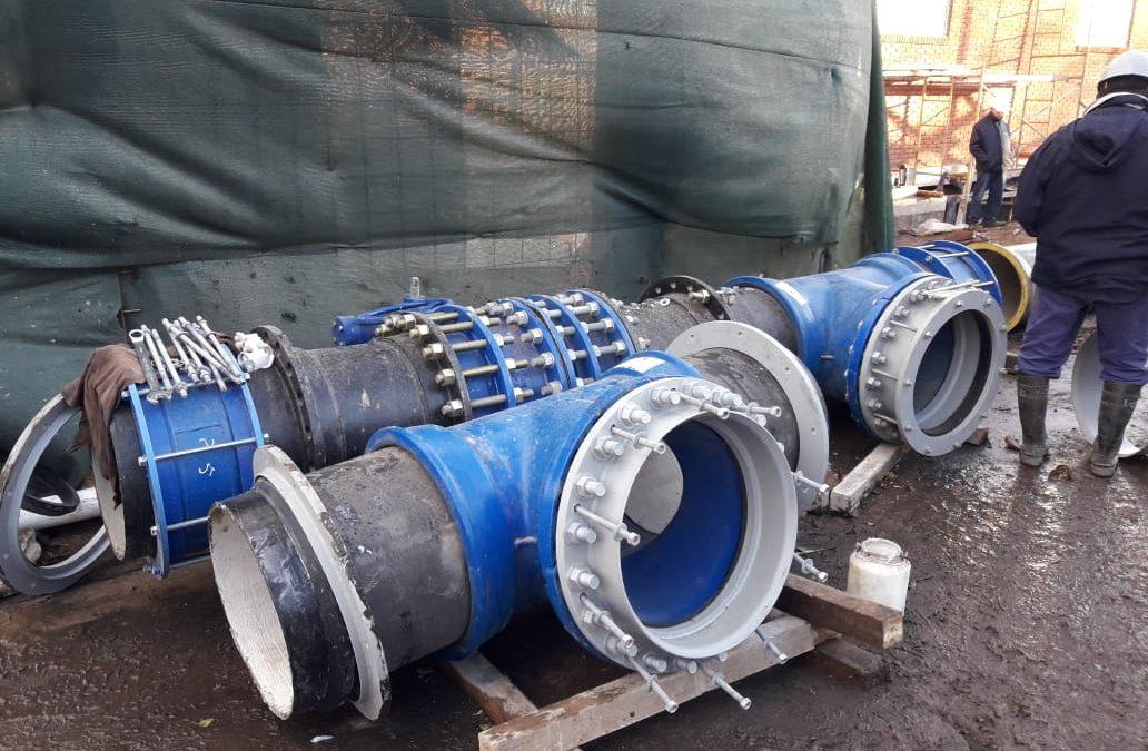 Centro de Abastecimiento de Agua de Tucumán y Almafuerte:  Proyectan puesta operativa con un nuevo empalme de cañerías